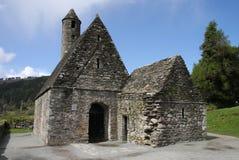 Cappella a Glendalough Fotografie Stock