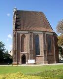 Cappella gotica a Poznan Fotografia Stock