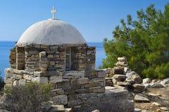 Cappella greca Fotografia Stock