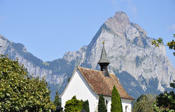 Cappella in Ingenbohl, Svizzera Immagine Stock