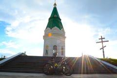 Cappella in Krasnojarsk 1 immagini stock