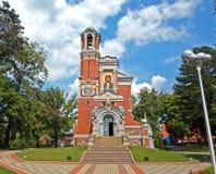 Cappella, la tomba dei principi Svyatopolk-Mirsky immagine stock libera da diritti