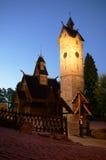 Cappella nei mouintains Fotografia Stock