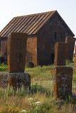 Cappella nel cimitero di Noratuz Immagini Stock Libere da Diritti