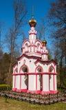 Cappella nel legno Immagini Stock
