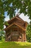 Cappella nel legno fotografia stock