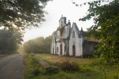 Cappella nel villaggio Goa, India di Nerul fotografia stock libera da diritti