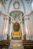 Cappella nella basilica del san John Lateran a Roma, Italia Fotografia Stock Libera da Diritti