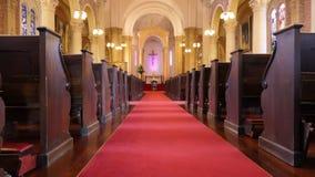 Cappella o pompe funebri religiosa per funerale fotografie stock