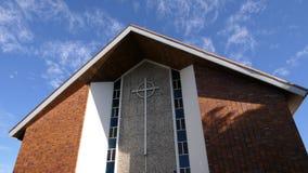 Cappella o pompe funebri religiosa per funerale fotografia stock