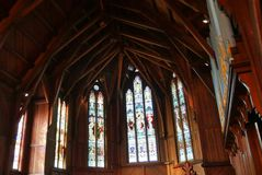 Cappella o pompe funebri religiosa per funerale fotografia stock libera da diritti