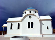 Cappella ortodossa greca Immagine Stock