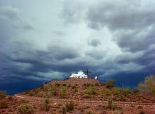 Cappella ortodossa greca Fotografia Stock