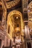 Cappella Palatina, Sicily Royalty Free Stock Photo
