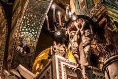 Cappella Palatina, Sicily Stock Image