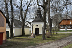 Cappella rurale Fotografie Stock Libere da Diritti