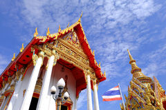 Cappella in tempio Fotografia Stock
