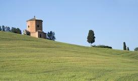 Cappella in Toscana Immagini Stock