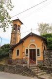 Cappella vergine di caravaggio in Citta Alta, Bergamo Fotografie Stock Libere da Diritti