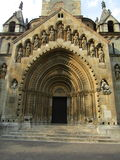 Cappella vicino al castello di Vajdahunyad, Budapest Fotografie Stock
