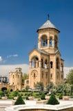 Cappella vicino alla cattedrale di Sameba Fotografia Stock