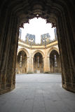Cappelle del inperfect del monastero di Batalha fotografia stock