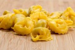 Cappelletti tradycyjny włoski jedzenie Fotografia Royalty Free
