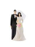 Cappelli a cilindro della torta nunziale Fotografia Stock Libera da Diritti
