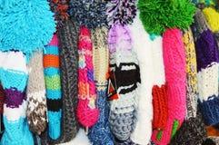 Cappelli colorati Immagini Stock