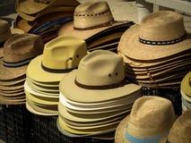 Cappelli da vendere Fotografia Stock Libera da Diritti