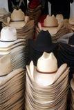 Cappelli del cowboy Fotografie Stock