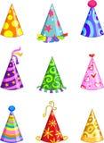 Cappelli del partito Fotografie Stock