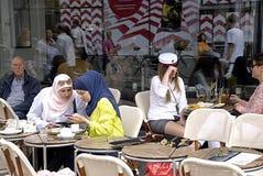 Cappelli di DENMARK_student Fotografie Stock Libere da Diritti