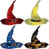 Cappelli di Halloween illustrazione vettoriale