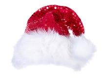 Cappelli di Santa isolati su bianco Immagine Stock