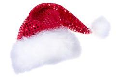 Cappelli di Santa isolati su bianco Fotografia Stock