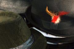 CAPPELLI headdresses Vendita dei cappelli Fotografie Stock Libere da Diritti