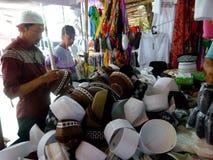 Cappelli musulmani Fotografia Stock Libera da Diritti