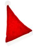 Cappelli rossi del Babbo Natale Fotografie Stock