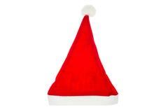 Cappelli rossi del Babbo Natale Immagine Stock Libera da Diritti