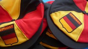 Cappelli tedeschi Fotografia Stock Libera da Diritti
