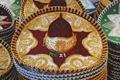Cappelli tradizionali messicani Fotografie Stock Libere da Diritti