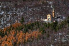 Cappello, μικρό ορεινό χωριό στα τέλη του φθινοπώρου στοκ φωτογραφίες με δικαίωμα ελεύθερης χρήσης