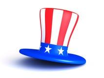 Cappello americano 3D Fotografie Stock Libere da Diritti