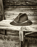 Cappello bavarese Fotografie Stock