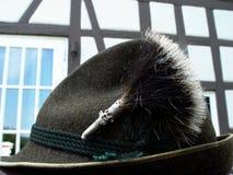 cappello bavarese del costume Fotografie Stock Libere da Diritti