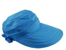 Cappello blu fotografie stock