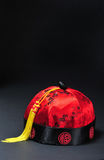 Cappello cinese di nuovo anno. Fotografie Stock
