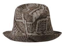 cappello con un bordo Fotografia Stock Libera da Diritti