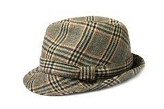 Cappello controllato Fotografia Stock